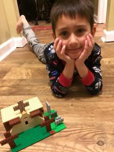 Logan Giusti, Lego Master