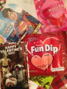 These are not real Valentines.